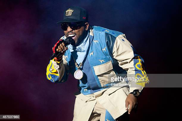 Big Boi of Outkast performs during Austin City Limits Music Festival at Zilker Park on October 10 2014 in Austin Texas