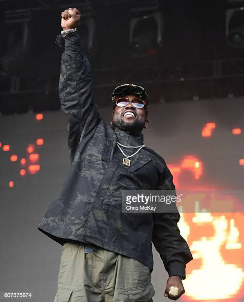 Big Boi of OutKast performs during Music Midtown at Piedmont Park on September 17 2016 in Atlanta Georgia