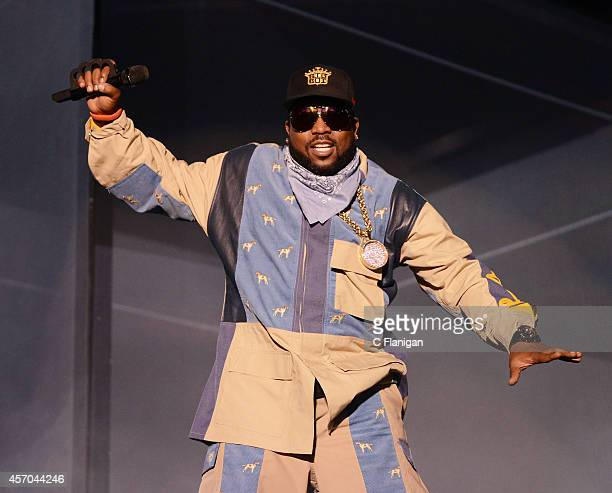 Big Boi of Outkast performs during the 2014 Austin City Limits Music Festival at Zilker Park on October 10 2014 in Austin Texas