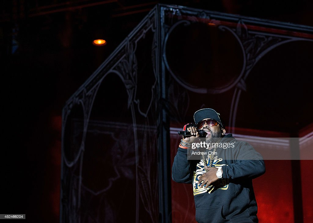 Big Boi of Outkast performs on stage during Day 3 of Pemberton Music and Arts Festival on July 20, 2014 in Pemberton, Canada.