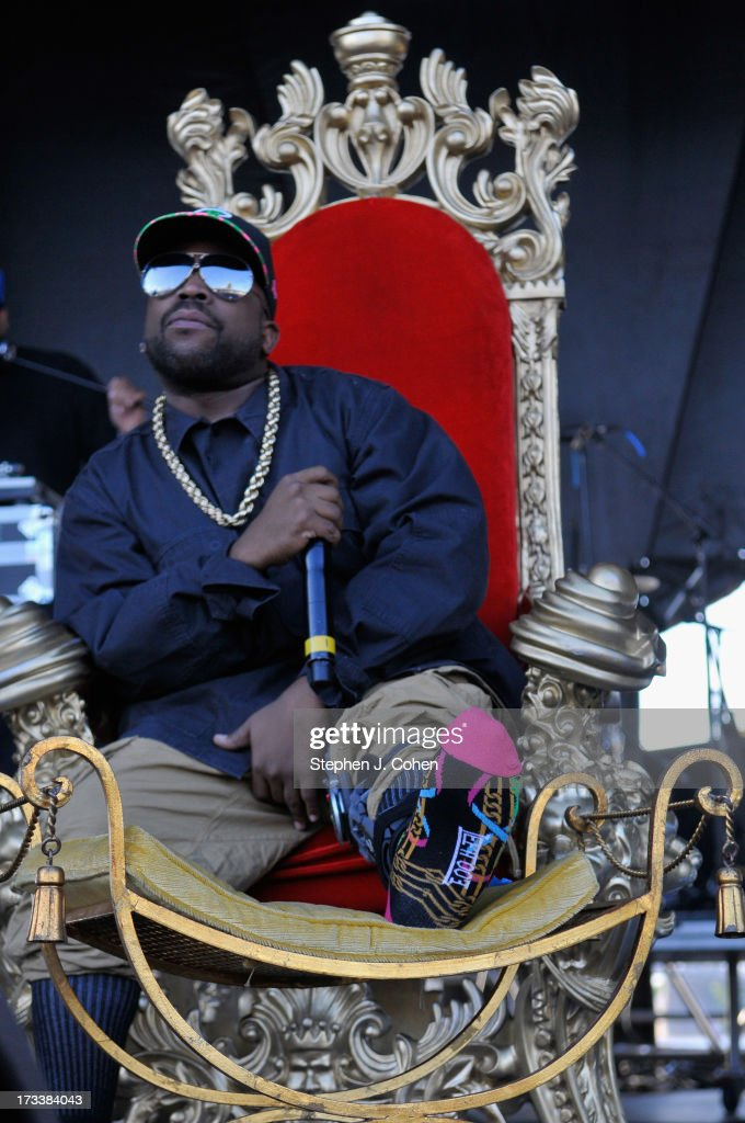 Big Boi performs during the 2013 Forecastle Festival at Waterfront Park on July 12, 2013 in Louisville, Kentucky.