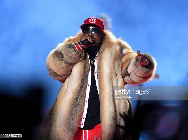 Big Boi performs during the Pepsi Super Bowl LIII Halftime Show at MercedesBenz Stadium on February 3 2019 in Atlanta Georgia