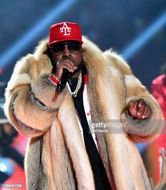 Big Boi performs during the Pepsi Super Bowl LIII Halftime Show at Mercedes-Benz Stadium on February 3, 2019 in Atlanta, Georgia.