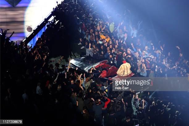 Big Boi performs during the Pepsi Super Bowl LIII Halftime Show at MercedesBenz Stadium on February 03 2019 in Atlanta Georgia