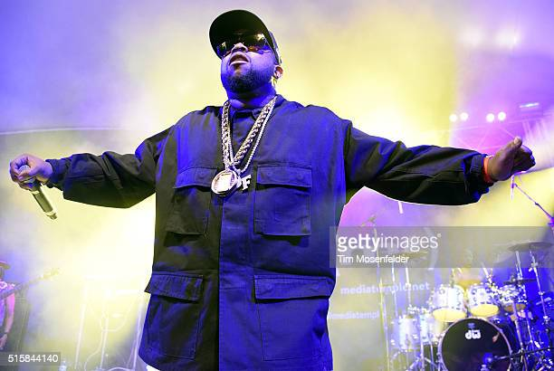 Big Boi performs during the SXSWIA Closing Party at Stubbs BarBQue on March 15 2016 in Austin Texas