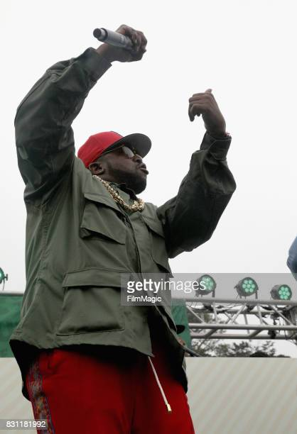 Big Boi performs outside The House by Heineken tent during the 2017 Outside Lands Music And Arts Festival at Golden Gate Park on August 13 2017 in...