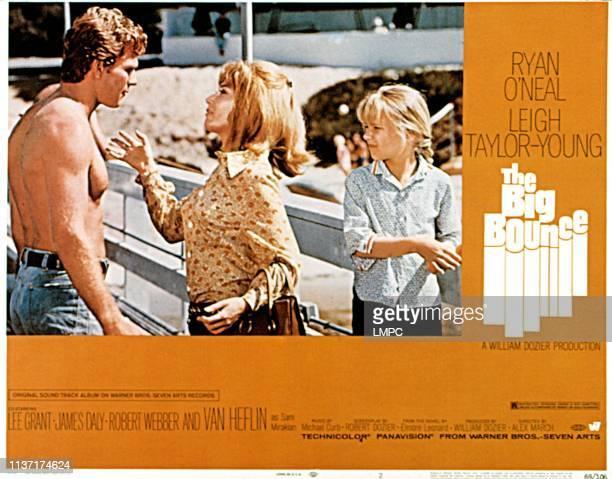 Big Bounce lobbycard Ryan O'Neal Lee Grant Cindy Eilbacher 1969