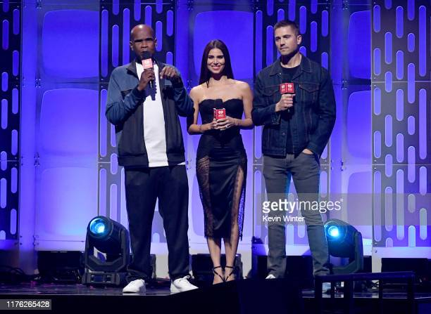 Big Boy, Roselyn Sánchez and Eric Winter performs onstage during the 2019 iHeartRadio Music Festival at T-Mobile Arena on September 21, 2019 in Las...