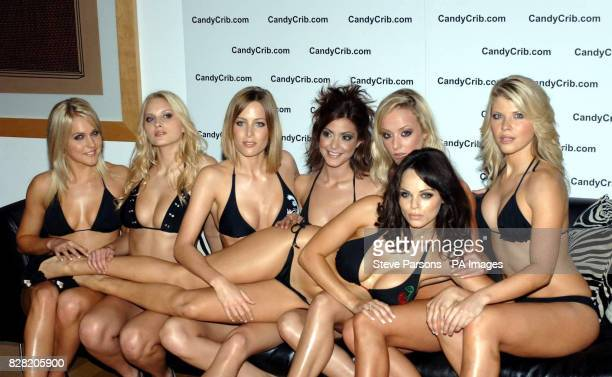 Big Brother 5 contestant Vanessa Nimmo page 3 girls Kerry Kayleigh Jerri Natalie Oxley Krystal and Erika Lara during a photocall to launch the new...