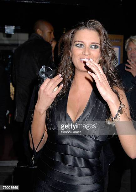 Big Brother 6 contestant Saskia Howard Clarke arrives at the OK New Year Party at Embassy London on January 15 2008 in London England