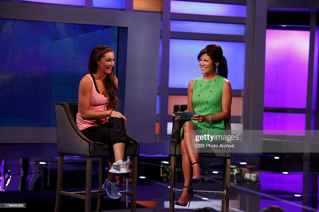 'Big Brother' - Host Julie Chen interviews Elissa Slater following her eviction on BIG BROTHER, Thursday, September 5, on the CBS Television Network.