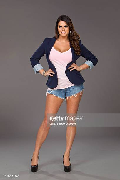 Big Brother Houseguest Amanda Zuckerman a Real Estate agent from Boynton Beach Fla New season premieres Wednesday June 26 on the CBS Television...