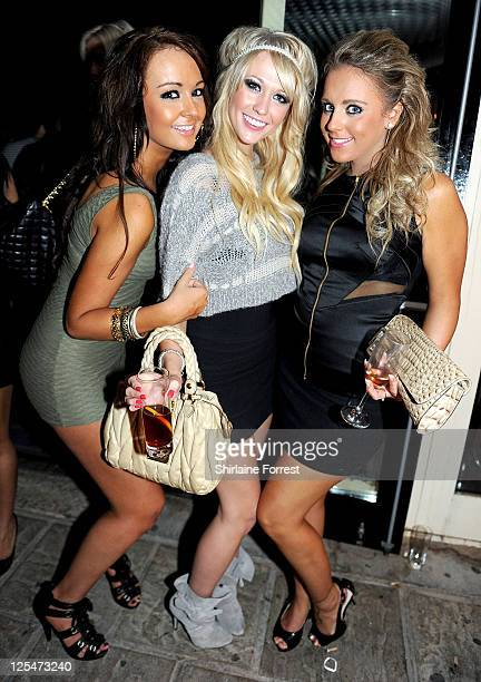 Big Brother series 10 winner Sophie Reade attends Religion at Bijou night club on October 9, 2010 in Manchester, England.