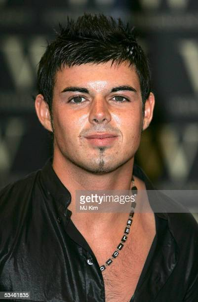 Big Brother VI housemates Anthony Hutton is reunited to sign copies of 'Big Brother Access All Areas' at Waterstone's Piccadilly on August 25 2005 in...