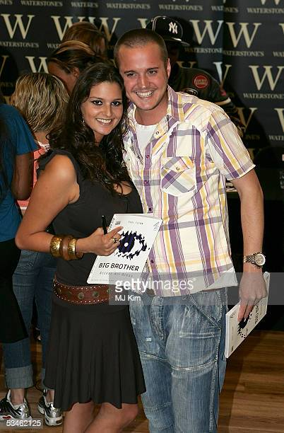Big Brother VI housemates Saskia Howard Clarke and Maxwell Ward are reunited to sign copies of Big Brother Access All Areas at Waterstone's...