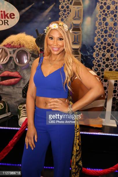 Big BrotherCelebrity Edition Tamar Braxton celebrates winning the Season 2 of Big Brother Celebrity Edition airing on the CBS Television Network