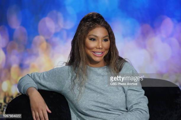 Big BrotherCelebrity Edition Tamar Braxton in the Big Brother House on Big Brother airing on the CBS Television Network