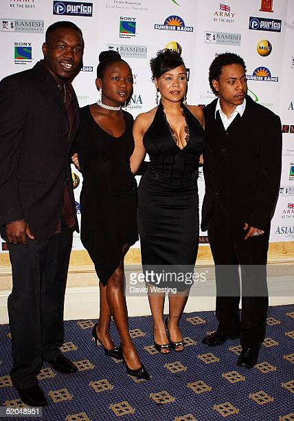 Big Brovaz arrive for the 'Sony Entertainment Television Asian Sports Personality Of The Year Awards' at the London Hilton Hotel on January 22 2005...