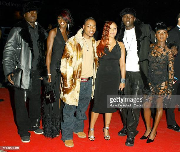 Big Brovaz attend the MOBO awards at the Royal Albert Hall