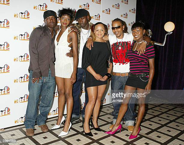 Big Brovaz attends the launch of MTV's TRL August 12 2003 at the In Out Club in Piccadilly in London England