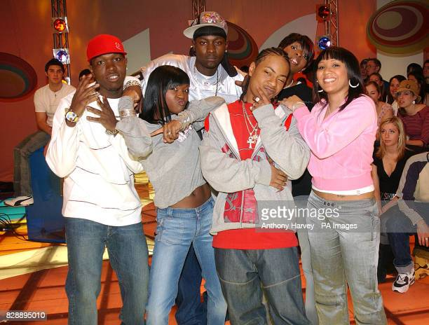 Big Brovaz during their guest appearance on MTV's TRL UK at the MTV Studios in Camden north London The group are currently promoting their latest...