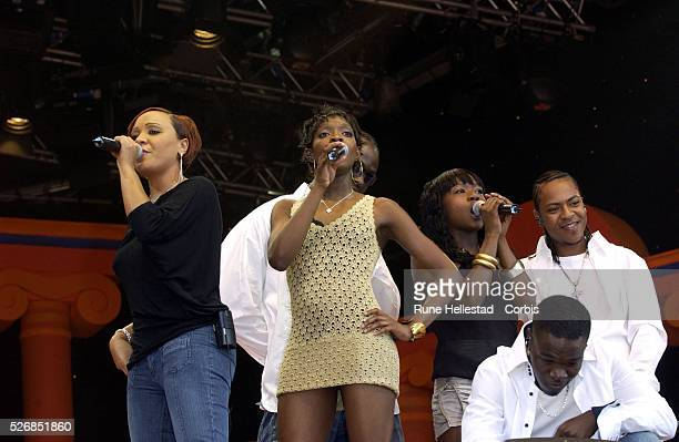 Big Brovaz perform at the CBBC proms in Hyde Park