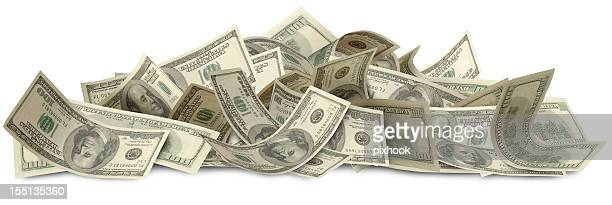 big bucks with path - stack stock photos and pictures