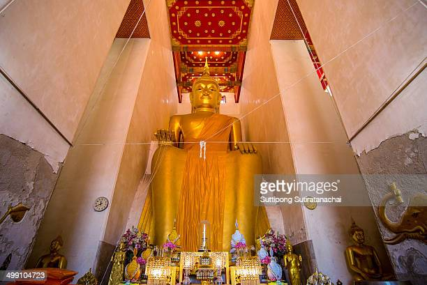 CONTENT] Big Buddha at wat Pa La Lai Temple in SuphanburiThailand Called Luang Por Tho
