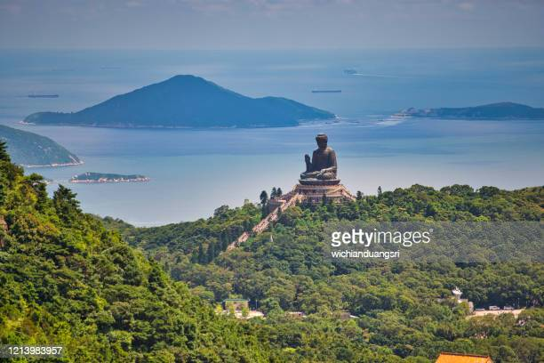 big buddha , hong kong - lantau stock pictures, royalty-free photos & images
