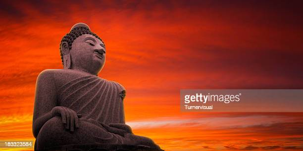 Big Buddha Sunset