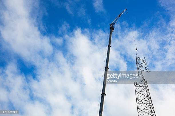 Big Cellular Tower Construction