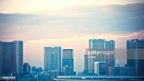 大都市の街並み