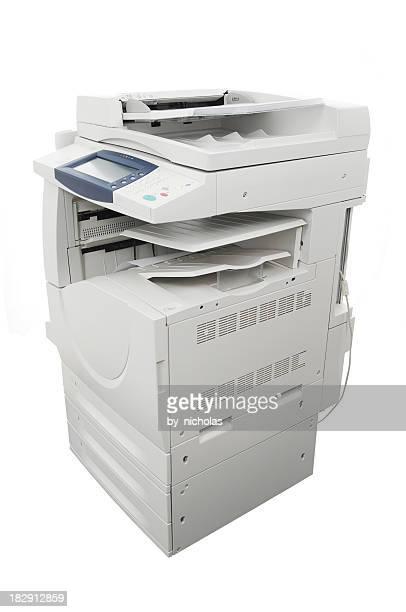 Big imprimante, isolé sur blanc