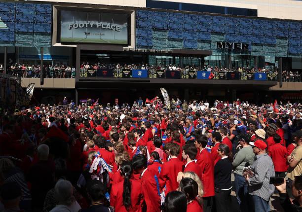 "AUS: AFL Grand Final 'People's Parade"" Parade"