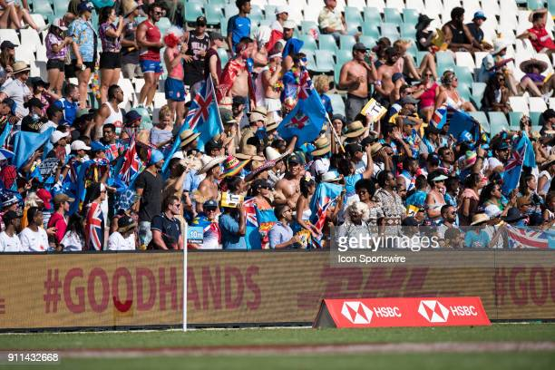 Big crowds at the World Rugby Sevens Series at Allianz Stadium in Sydney on January 28 2018