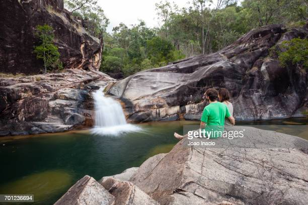 big crystal creek, paluma range national park, queensland, australia - townsville queensland stock pictures, royalty-free photos & images