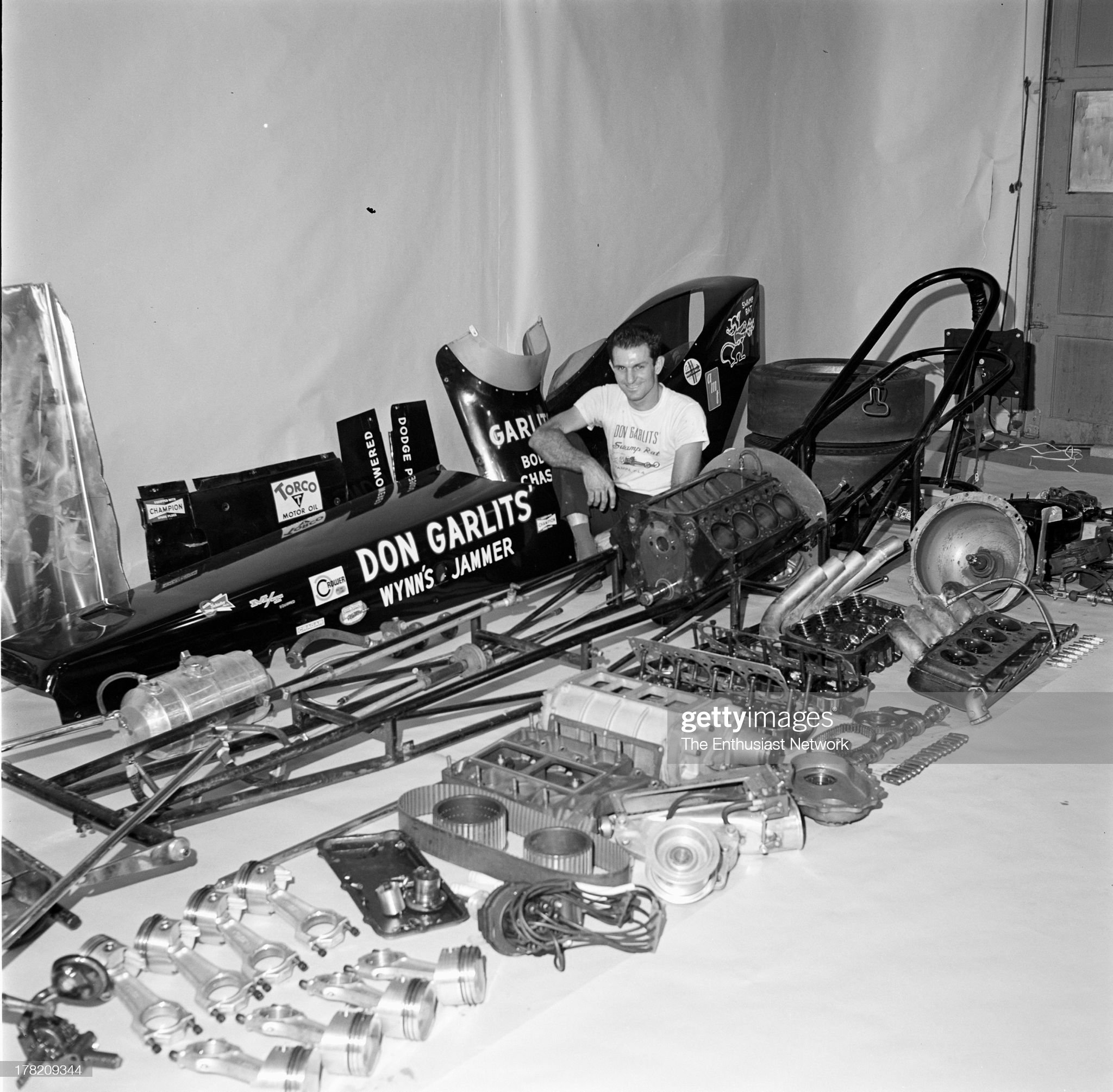 Big Daddy Don Garlits Wynn's Jammer Dragster : News Photo