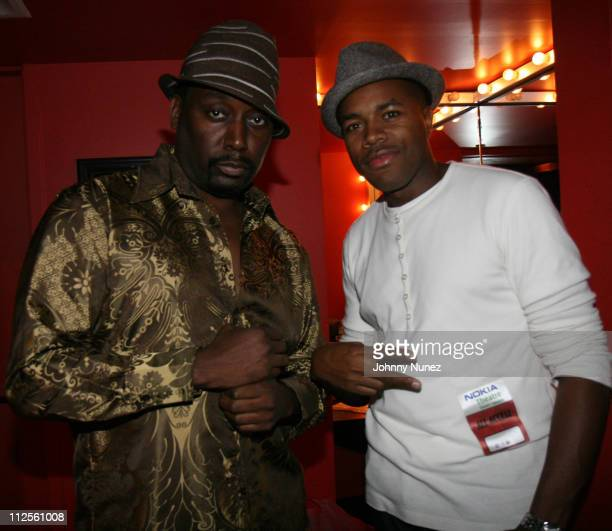 Big Daddy Kane and DJ DNice attends VH1 Hip Hop Honors Weekend 2007/ Hip Hop Honors Tour featuring The Roots on October 5th 2007 in New York City NY