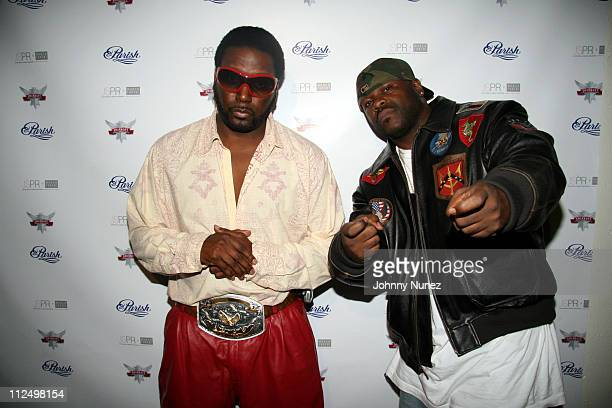 """Big Daddy Kane and Freddy Fox during Smirnoff Presents """"The Parish House Party"""" at Loft 11 in New York City, New York, United States."""