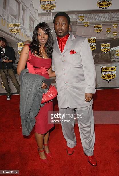 Big Daddy Kane and guest during 2006 VH1 Hip Hop Honors - Arrivals at Hammerstein Ballroom in New York City, New York, United States.