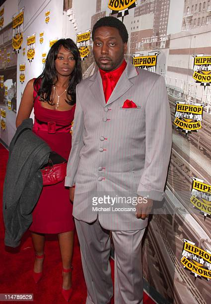 Big Daddy Kane and guest during 2006 VH1 Hip Hop Honors - Red Carpet at Hammerstein Ballroom in New York City, New York, United States.