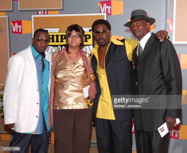 Big Daddy Kane and guests during 2005 VH1 Hip Hop Honors - Arrivals at Hammerstein Ballroom in New York City, New York, United States.
