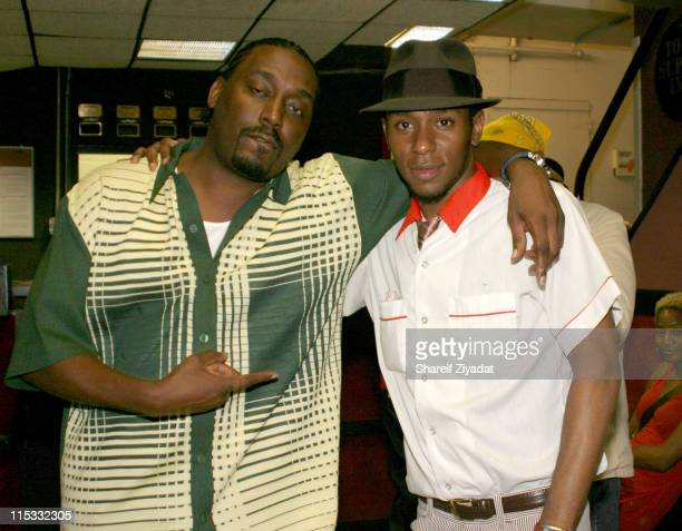 Big Daddy Kane and Mos Def during Dave Chappelle and Friends Perform in New York City September 17 2004 at Secret Location in New York United States