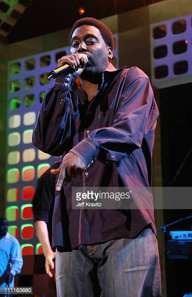 Big Daddy Kane during 2005 VH1 Hip Hop Honors Rehearsals Day 1 at Hammerstein Ballroom in New York City New York United States
