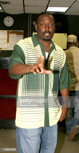Big Daddy Kane during Dave Chappelle and Friends Perform in New York City September 17 2004 at Secret Location in New York United States