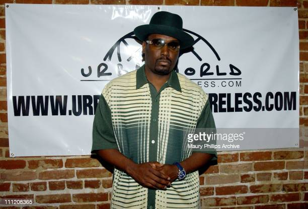 "Big Daddy Kane during UrbanWorld Wireless Kicks off E3 All-Star ""RINGTONE Mixtape"" Release Party."