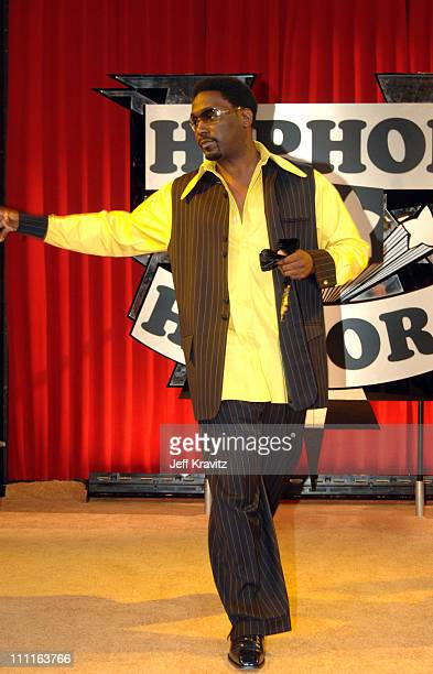Big Daddy Kane honoree during 2005 VH1 Hip Hop Honors Gold Carpet at Hammerstein Ballroom in New York City New York United States