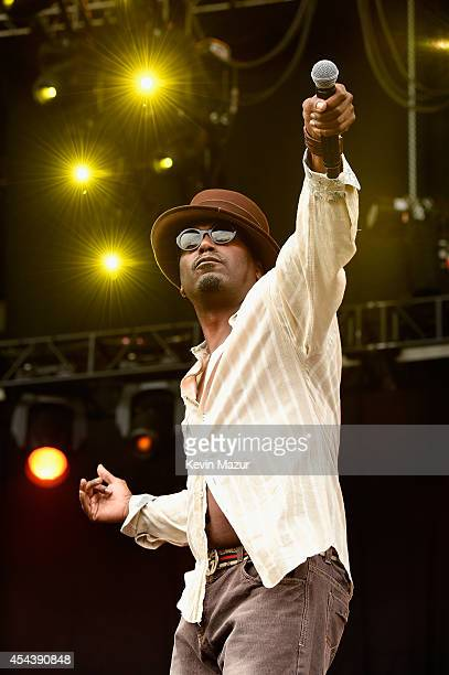 Big Daddy Kane performs onstage at the 2014 Budweiser Made In America Festival at Benjamin Franklin Parkway on August 30 2014 in Philadelphia...