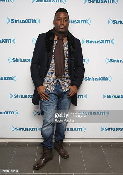 Big Daddy Kane visits at SiriusXM Studios on January 5, 2016 in New York City.