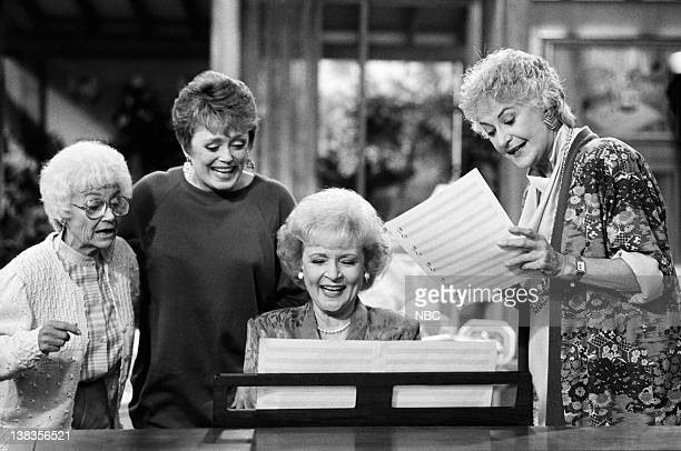GIRLS 'Big Daddy's Little Lady' Episode 6 Pictured Estelle Getty as Sophia Petrillo Rue McClanahan as Blanche Devereaux Betty White As Rose Nylund...